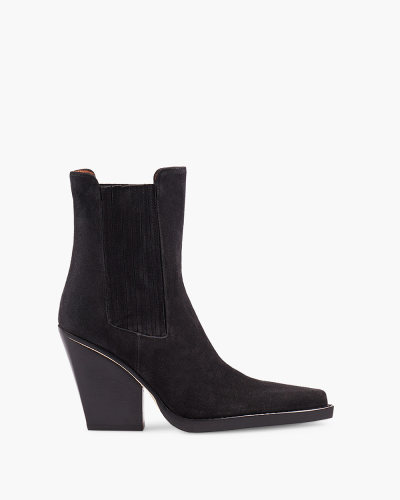 SUEDE DALLAS ANKLE BOOTS