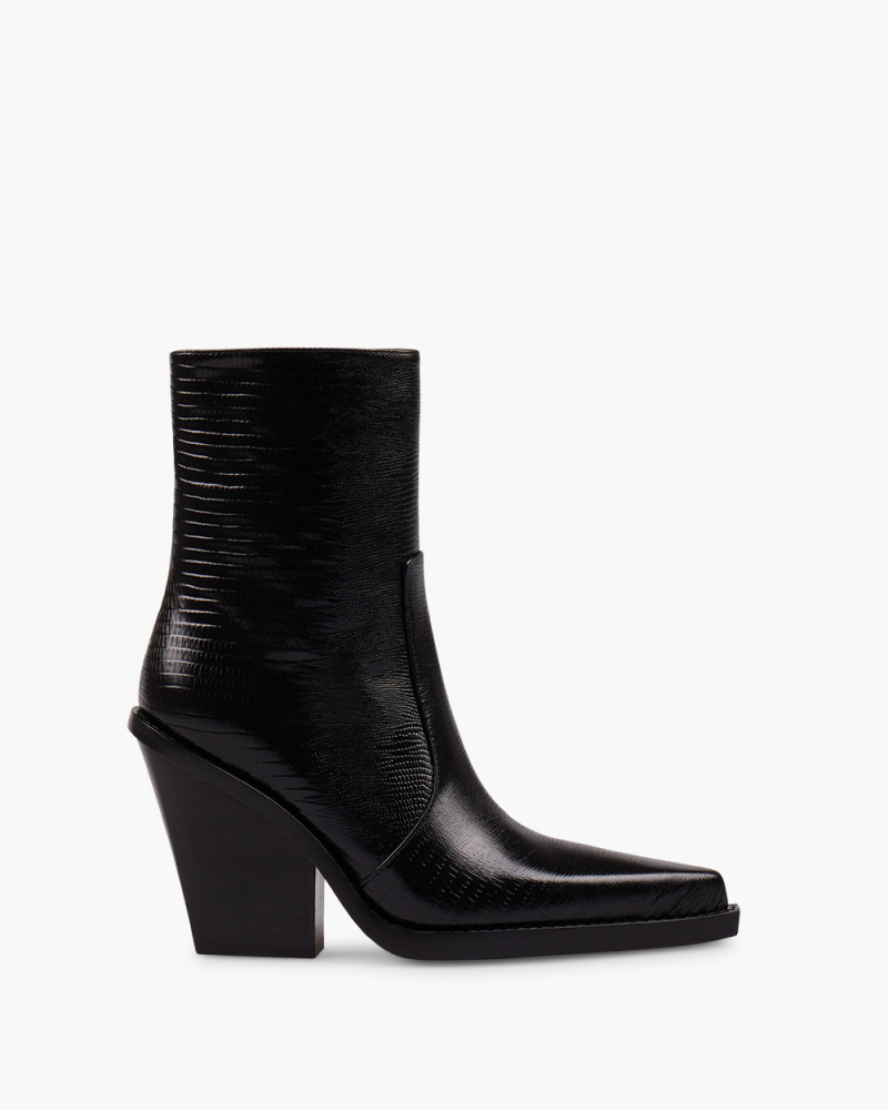 LIZARD RODEO ANKLE BOOTIES